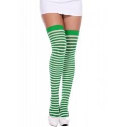 Bas opaque 4741 vert Music Legs