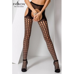 Collants ouverts S006 Noir Passion