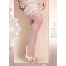 Bas Blancs Art-361 ES Studio Collants