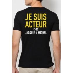 Tee-shirt Acteur J&M 9857 Noir