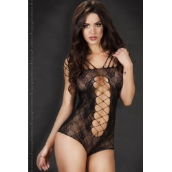Body CR-3667 Noir ou Rouge Chilirose Lingerie