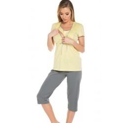 FELICITA pyjama de grossesse jaune