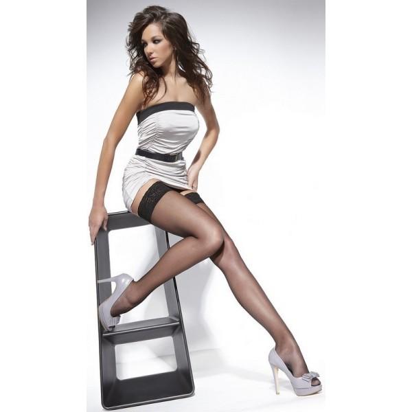 HUSH Bas Noir Blanc Chair Ecru ou Rouge Bas Bleu