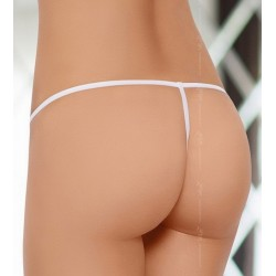 String Ouvert 2322 Blanc  SoftLine Collection dos