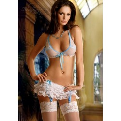 CHELSEA Blanc Ensemble Lingerie ES Beauty Night