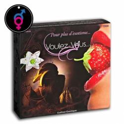 Coffret Cadeau Exotique Avec Menottes Voulez-Vous