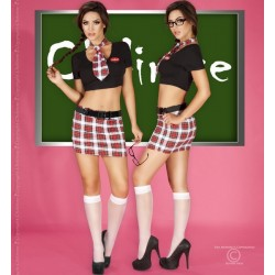 Costume School Girl 7 pièces CR-3639 Chilirose