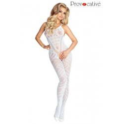 BODYSTOCKING Blanc PR4680 Lingerie Provocative