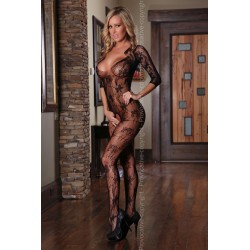 BODYSTOCKING Noir PR4160 Lingerie Provocative