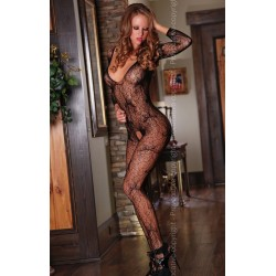 BODYSTOCKING Noir PR4158 Lingerie Provocative