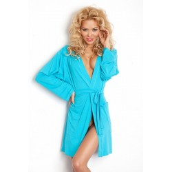 INES Robe de Chambre turquoise