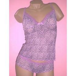 Caraco Leopard violet