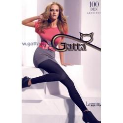 Legging 100Den Anthracite Gatta