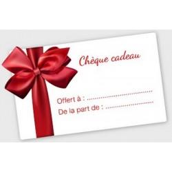 CHEQUE CADEAU 15€