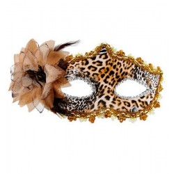Masque Tosca Leopard Mascarade