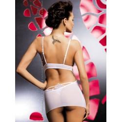 LUIZA Nuisette sexy blanche Obsessive