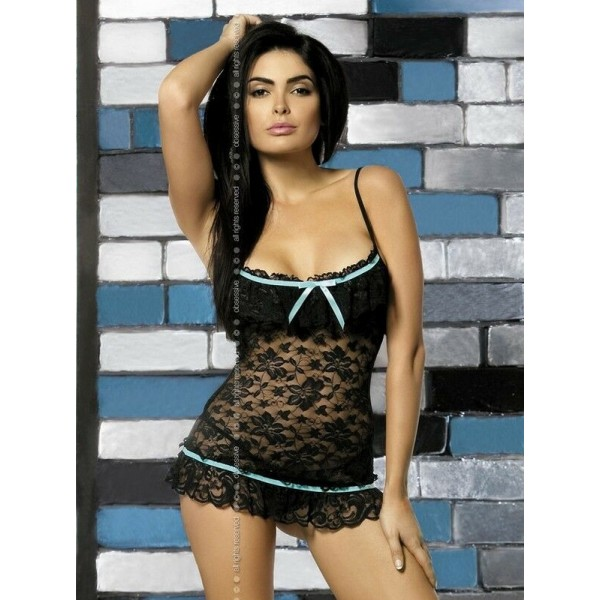 CURACAO Nuisette Noire Obsessive