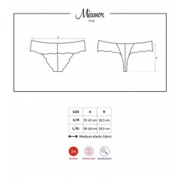 MIAMOR String Lingerie Obsessive taille