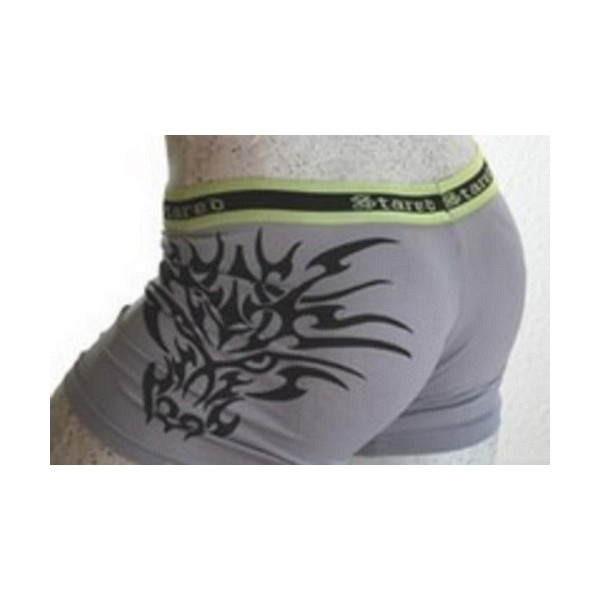Boxer Lycra Tribal Anthracite