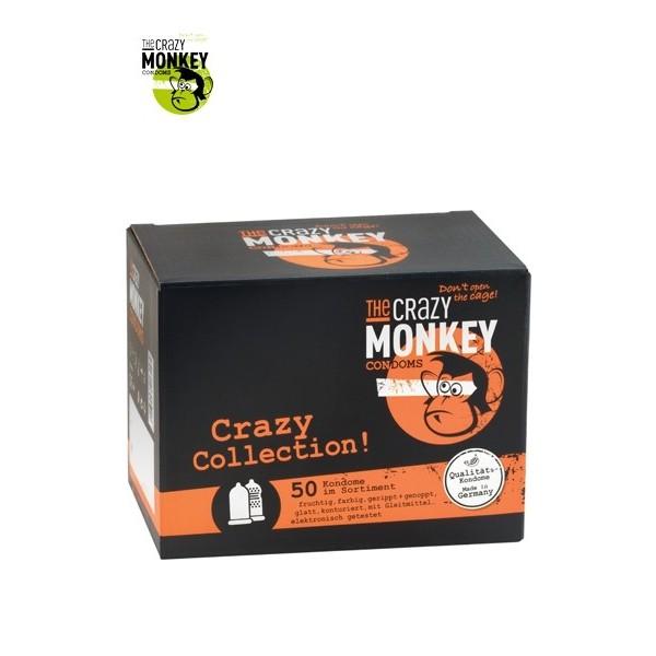 Assortiment 50 Préservatifs Crazy Monkey
