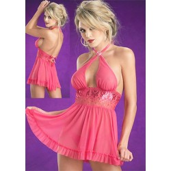 Robe Club Wear LC2181 Fuschia Beauty's Love