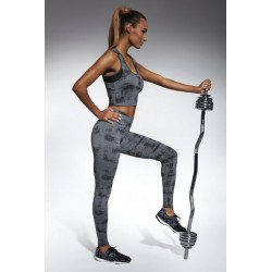 INTENSE Legging Fashion de Sport Bas Bleu