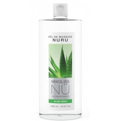 Gel massage Nuru Mixgliss 1 litre Aloe Vera
