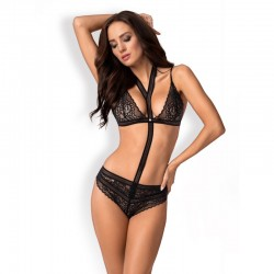 AILAY Body noir Lingerie...