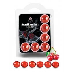 Boite de 6 Brazilian Balls cerise