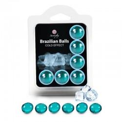 6 Brazilian Balls - effet froid