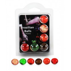 Boite de 6 Brazilian Balls Aroma