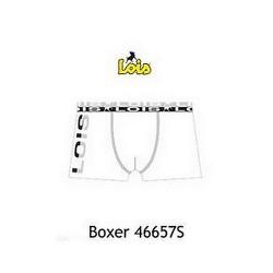 Boxer Essential Blanc ou Noir Lois