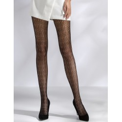 Collants résille Fantaisie TI042 Noir Passion