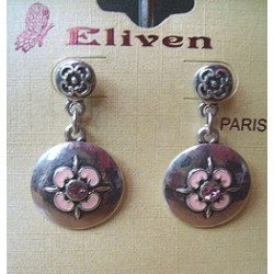 Boucles d'oreilles métal 3177