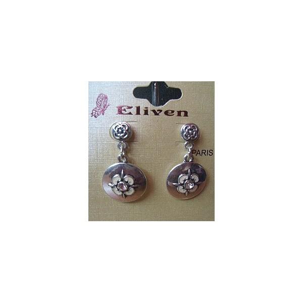 Boucles d'oreilles métal 3176