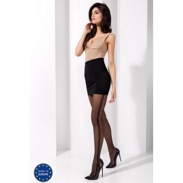 Collant TI029 Noir Passion
