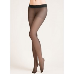 HIPSTERS 20 Den Collant Taille Basse Gabriella noir
