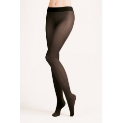 HIPSTERS 40 Den Collant Noir Taille Basse Gabriella