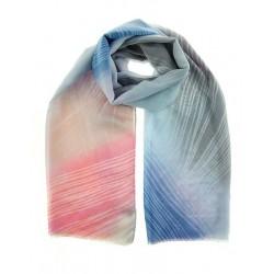Foulard polyester imprimé