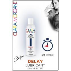 Lubrifiant DELAY Water base EAU retardant Clara Morgane