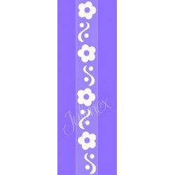 Bretelles de Soutien gorge silicone RK131 à fleurs