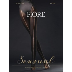 Wild Side Collants 60 DEN - Noir Fiore