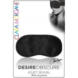 Masque Desire Obscure satin noir Clara Morgane