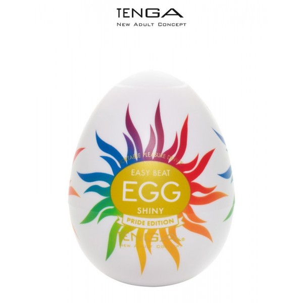 Masturbateur Egg Shiny Pride Edition Tenga