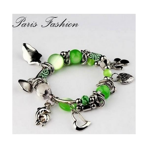 Bracelet Pampilles 29181 Vert
