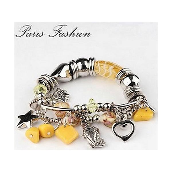 Bracelet Pampilles 29178 Jaune