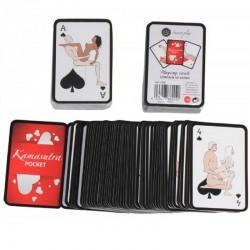 Jeu de cartes Kamasutra Pocket