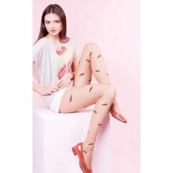 ICE CREAMS Collant Gabriella beige