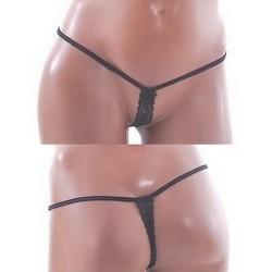 Micro string F3 Noir