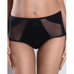 RACHEL Maxi Culotte coton noire Italian Fashion